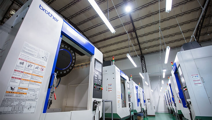 Purchased Several Japanese Brother CNC Integrated Processing Machines in January 2021